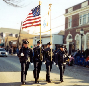 Falmouth Police Honor Guard Parade Event
